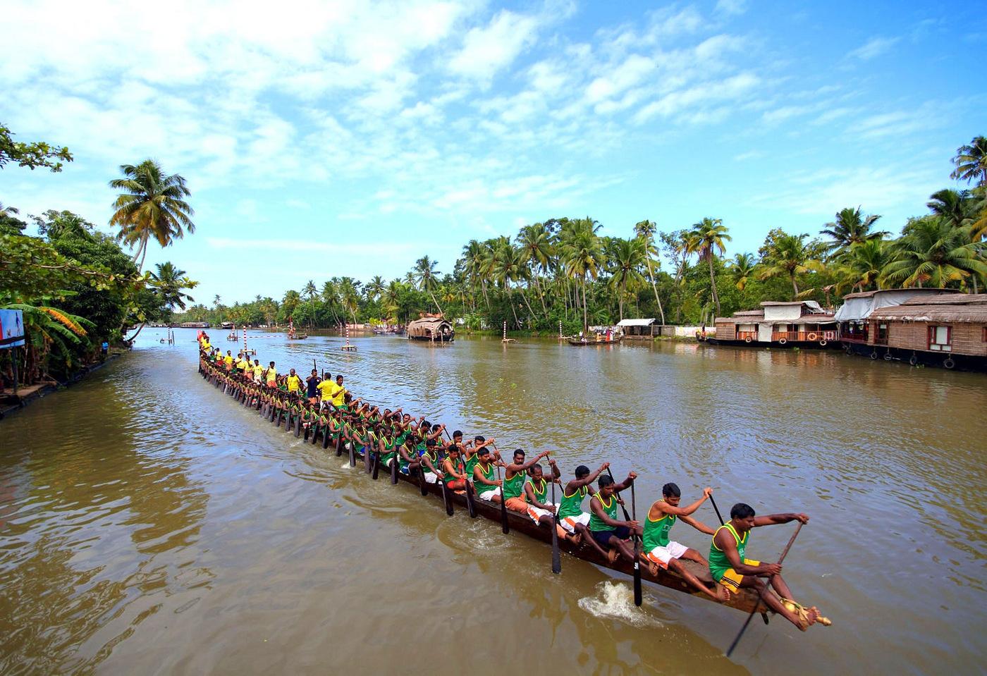 Indian Romance with Luxury Backwaters of Kerala