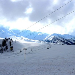 Gulmarg Gondola car ride
